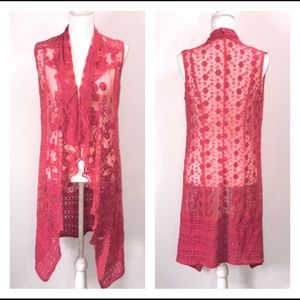 Bohemia-style Sexy Lace Cover-up